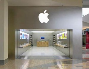 A physical Apple store allows customers to really experience Apple products.